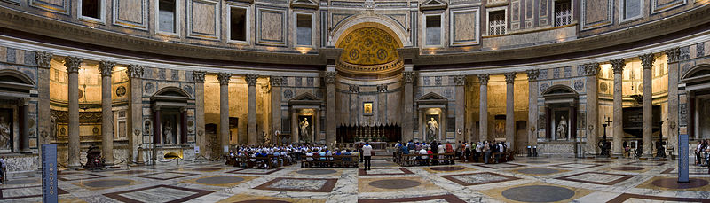 File:Pantheon panorama, Rome.jpg