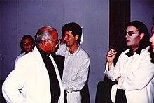 Renato Zero, insieme a Fabio Fazio e Gino Paoli