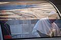 Pape François et Mgr Sepe dans la Papamobile.jpg