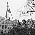Parade van het regiment Stoottroepen in Middelburg, Bestanddeelnr 900-2331.jpg