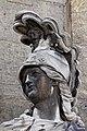 Paris - Les Invalides - Façade nord - Statue de Minerve - 002.jpg