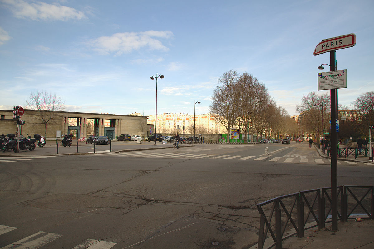 Porte de montrouge wikip dia for Garage chatillon montrouge