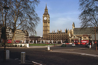 Parliament Square - Parliament Square in 1980