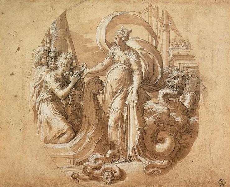 File:Parmigianino - Circe and the Companions of Ulysses - WGA17047.jpg