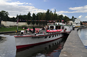 Prague Steamboat Company - The ''Vltava'' - 145 years anniversary of Prague Steamboat Company