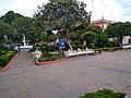 Parque de Calpulalpan, Tlaxcala cerrado durante la Pandemia de COVID-19 10.jpg