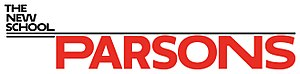 Parsons School of Design - Image: Parsons The New School for Design Logo