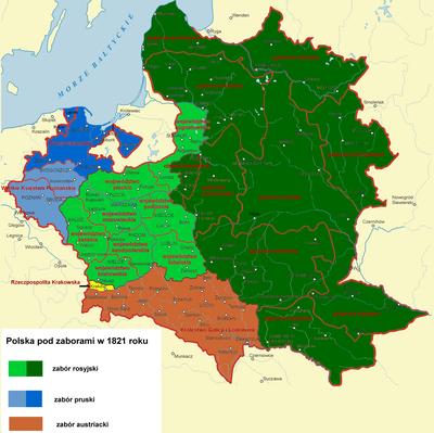 Ziemie Rzeczypospolitej Pod Zaborami Wikipedia Wolna