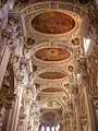 Passau Dom St. Stephan Innen Decke 1.JPG