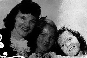 Patsy Montana - Patsy Montana with daughters Beverly and Judy