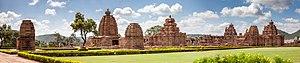Pattadakal - View of the main group
