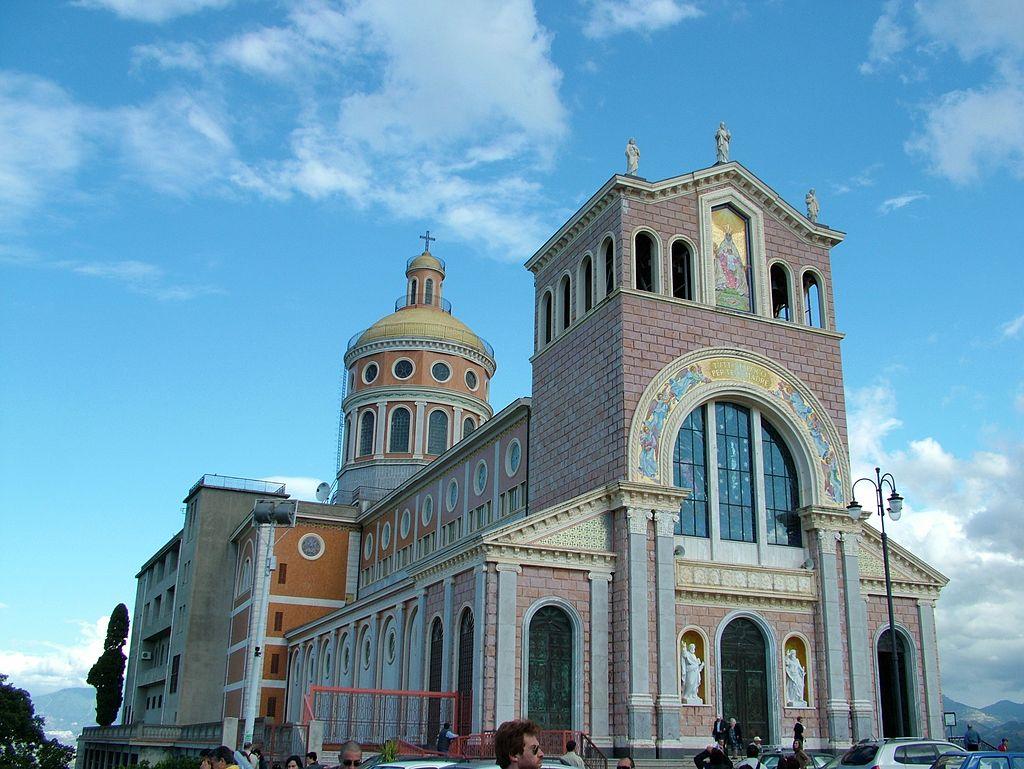 Patti Tindari Wallfahrtskirche