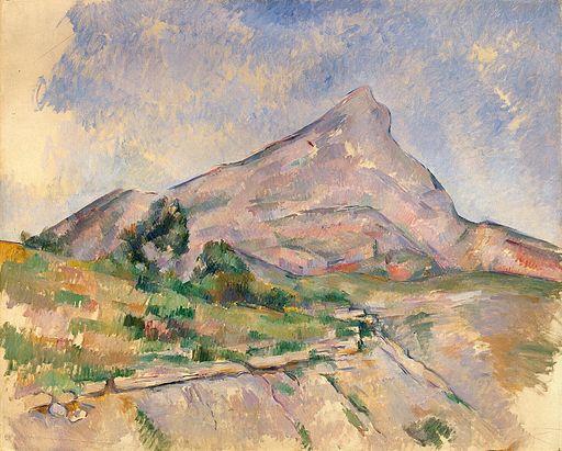 Paul Cezanne - Mont Sainte-Victoire 1897