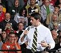 Paul Ryan makes a point during his speech at Carroll University in Waukesha. (8091040832).jpg
