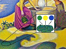 Pointillism Simple English Wikipedia The Free Encyclopedia