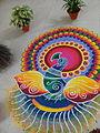 Peacock rangoli 20141107 200047.jpg