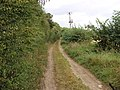 Pear Tree Field Lane, from the junction with the A639 - geograph.org.uk - 561366.jpg