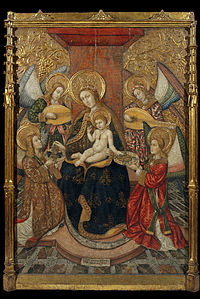Pedro García de Benabarre - Virgin and Angels - Google Art Project.jpg