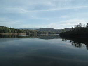 Peechi-Vazhani Wildlife Sanctuary - Image: Peechi Dam area Dec 2011 0254