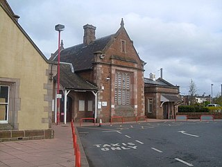 Penrith railway station Railway station in Cumbria, England