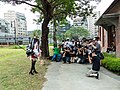 People Photographing Haruna Cosplayer in Court 20140705.jpg