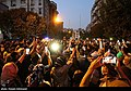People gathering outside the Jam Hospital following the death of Mohammad-Reza Shajarian 2020-10-08 24.jpg