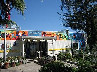 Bushrod Park, Oakland, California - Peralta Elementary School