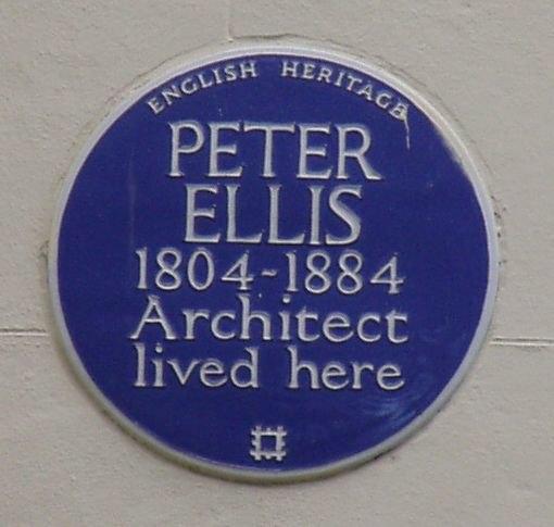 Peter Ellis Plaque at 40 Falkner Square