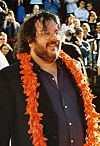 Peter Jackson at the premiere of the The Lord of the Rings: The Return of the King in Wellington.