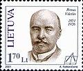 Petras Vileišis 2001 Lithuania stamp.jpg
