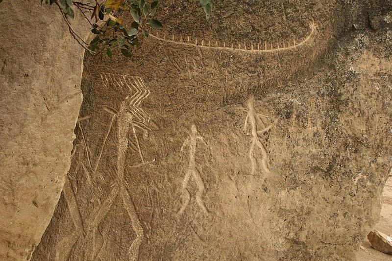 File:Petroglyphs of Qobustan 2.jpg