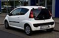 Peugeot 107 68 Active (2. Facelift) – Heckansicht, 19. Mai 2012, Düsseldorf.jpg