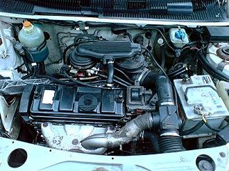 PSA TU engine - A TU3 in a Peugeot 205