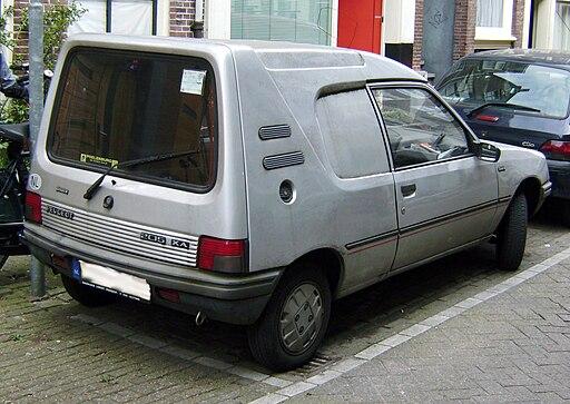 Peugeot 205 XA Van