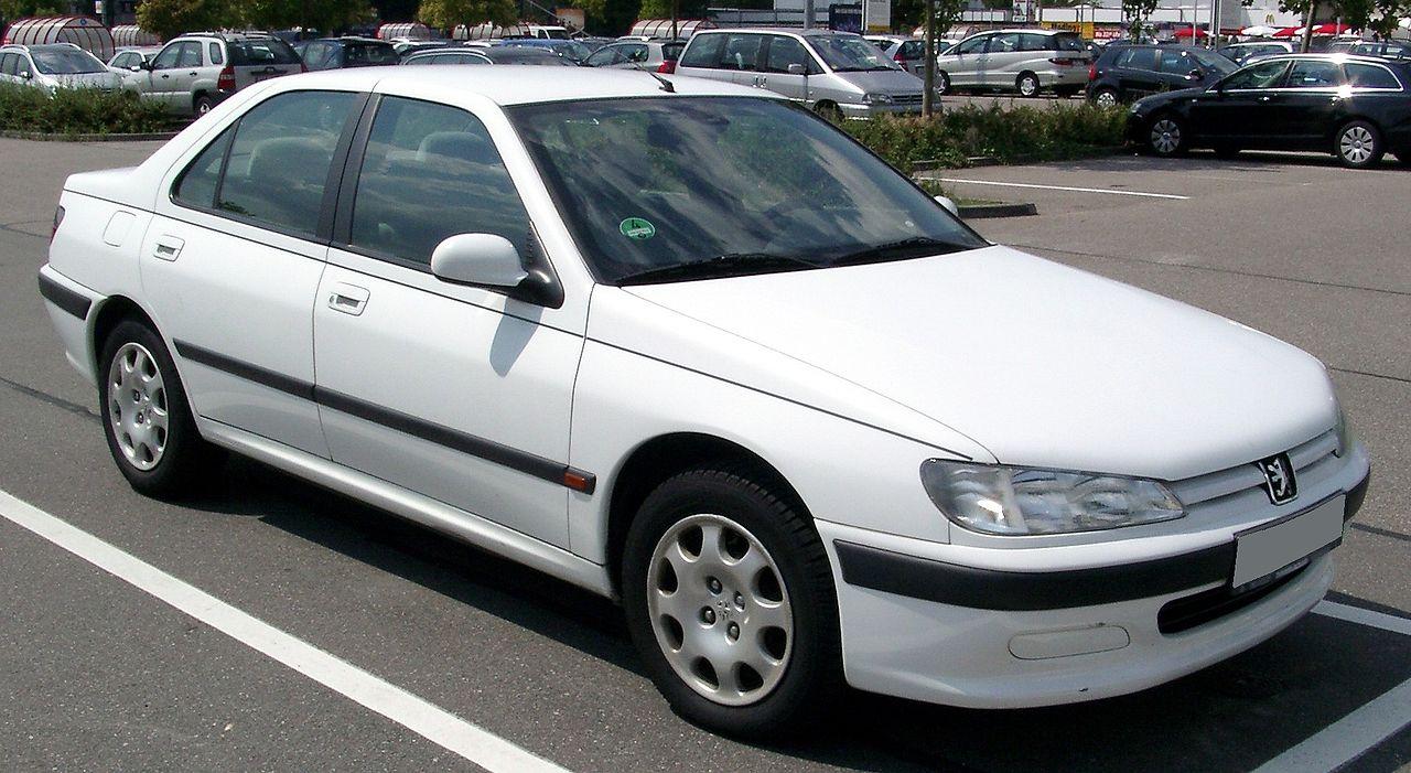 Peugeot 406 седан