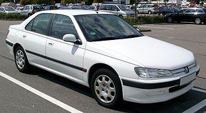 Peugeot 406 - Image: Peugeot 406 front 20080730