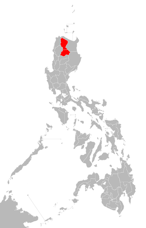 Kalinga-Apayao - Location of the historical province of Kalinga-Apayao.