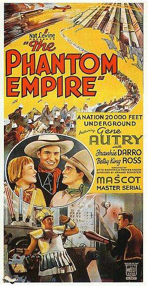 The Phantom Empire - Image: Phantom Empire Poster 1935