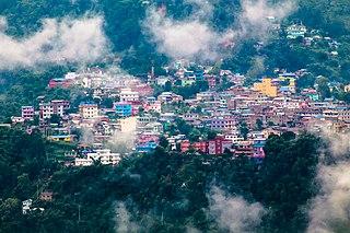 Phidim Municipality in Mechi Zone, Nepal