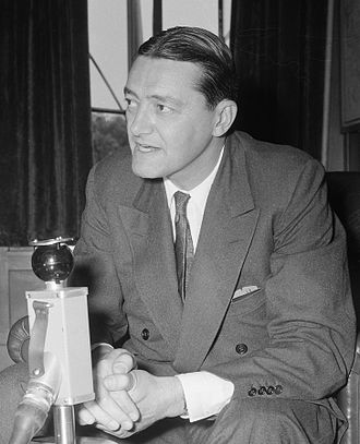 Philip Young (ambassador) - Philip Young in the Netherlands in 1957
