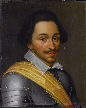 Battle of the Lippe - Portrait of Philip of Nassau by Jan Antonisz. van Ravesteyn, circa 1610–1620