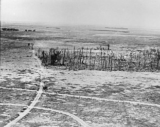 31st Division (United Kingdom) - Oppy Wood from the air