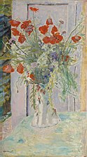 Pierre Bonnard - Poppies in a Vase (13631685725).jpg
