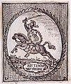 Pierre Troubezkoi, Pahonia. Пётар Трубяцкі, Пагоня (1778).jpg