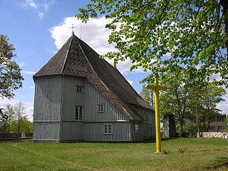 Church of the Holy Trinity, Pikeliai church building in Pikeliai, Lithuania