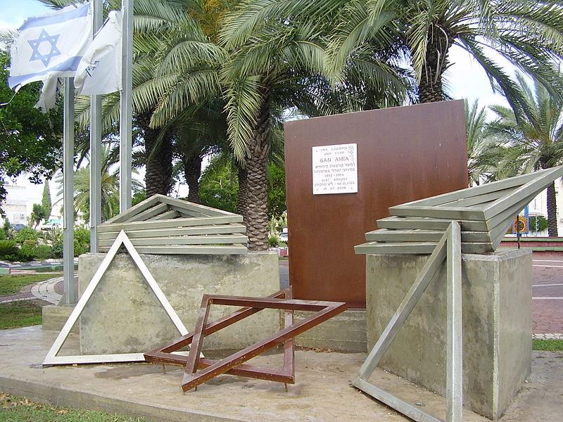 אנדרטה בקריית ים לזכר הקרבנות היהודים בפיגועי הטרו