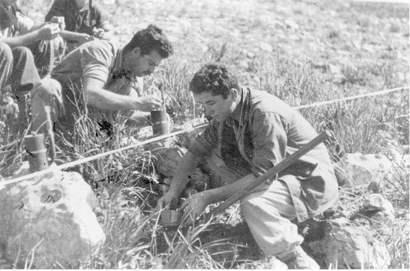 הנחת מוקשים על-ידי חטיבת יפתח