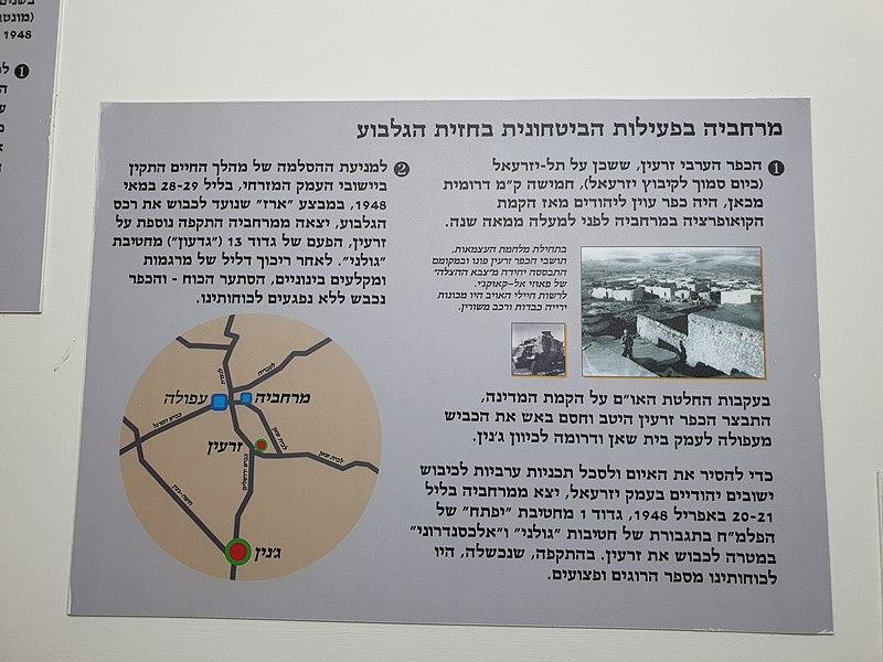 מוזיאון החצר הגדולה בקיבוץ מרחביה