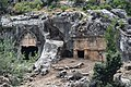 Pinara Ancient Lycian City Fethiye Turkey several Rock Tombs.jpg