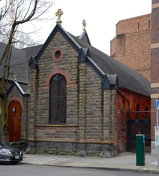 Marvelous St James Lutheran Church #1: 541px-Pioneer_Chapel_of_St._James_Lutheran_Church_-_Portland%2C_Oregon.jpg